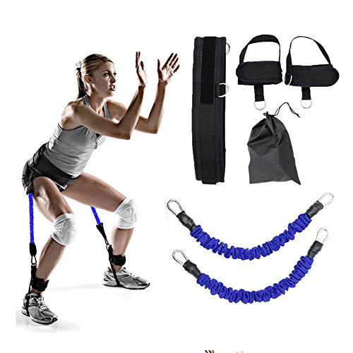 Bounce Trainer Training Device Jump Trainer Leg Strength and Agility Training Strap for Basketball Volleyball Football Taekwondo Boxing Explosive Power Training