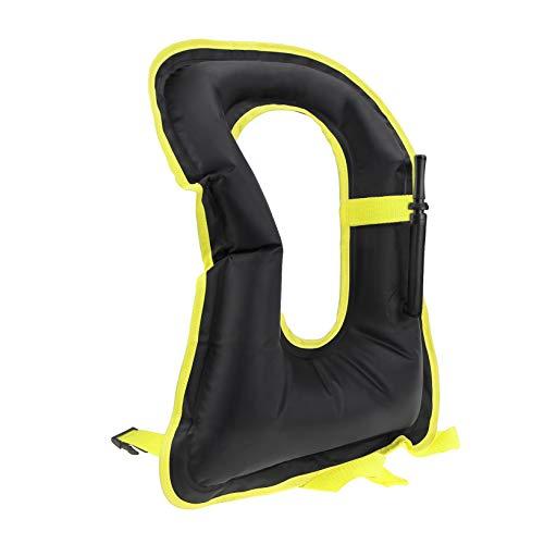 OMOUBOI Inflatable Snorkel Jacket Adult with Leg Straps for Men Women Snorkel Vest for Snorkeling Diving Swimming