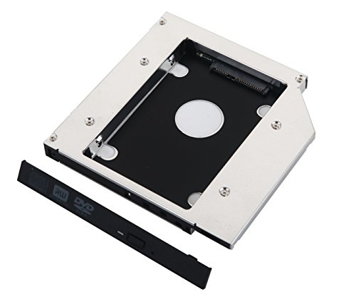 Deyoung 2nd HD SSD Hard Drive Caddy for Apple SuperDrive 27' iMac Late 2009 2010 2011 2012 2013