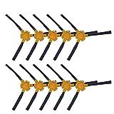 6/10 Cepillo Lateral Cepillo De Aspiradora Accesorios/Ajuste para Ecovacs Deebot Deepoo D58 D54 D56 520 526 540 550 560 570 580 (Color : 10 pcs)