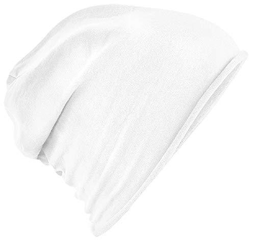 Beechfield - Bonnet - Homme Blanc Blanc taille unique