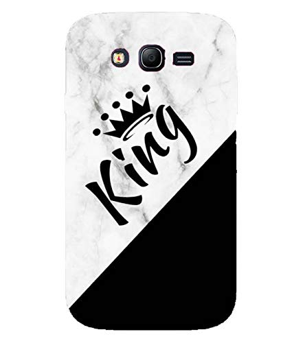 CREART King Name Design On Marble Designer Printed Hard Plastic Mobile Case Back Cover for Samsung Galaxy Grand I9082 : Grand Neo : Grand Neo Plus