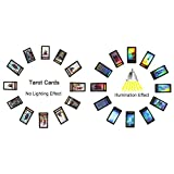 Tarot Cards for Beginner Deck Vintage 78 Cards Rider Waite Future Telling Game in Colorful Box (Black)