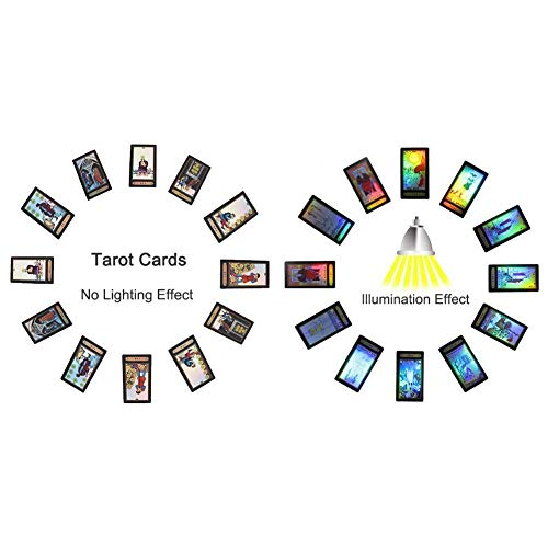 Tarot Cards for Beginner Deck Vintage 78 Cards Rider Waite Future Telling Game in Colorful Box (in Chinese)