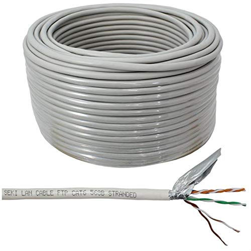 Cable de red Cat.6 50m ; F/UTP ; Cat6 cable de patch Cat6 ethernet