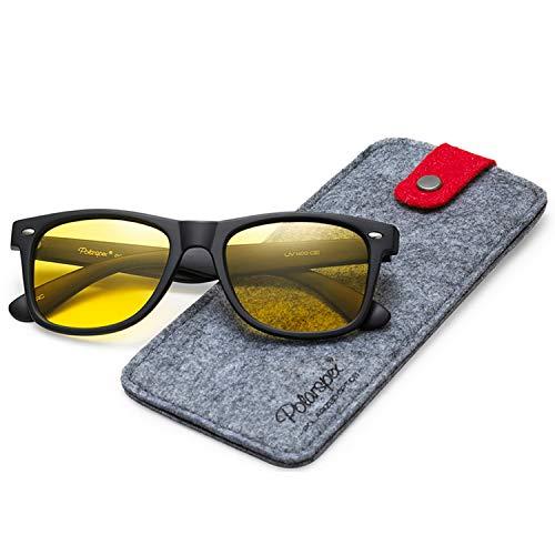 Polarspex Mens Sunglasses - Retro Sunglasses for Men & Women - Driving, Running Sunglasses for Men - Cool Polarized Shades