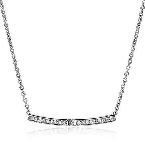 Zinzi Jewels 925 Sterling Zilveren Ketting ZIC1957 (Lengte: 42.00-45.00 cm)
