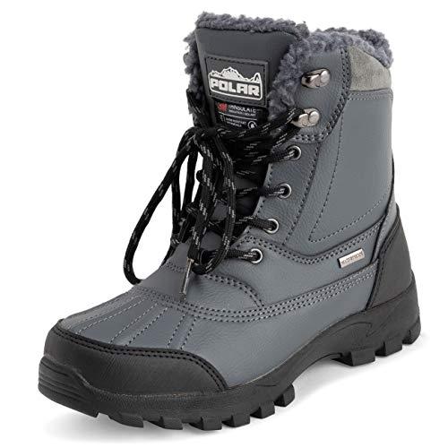 POLAR Men's Winter Snow Boots