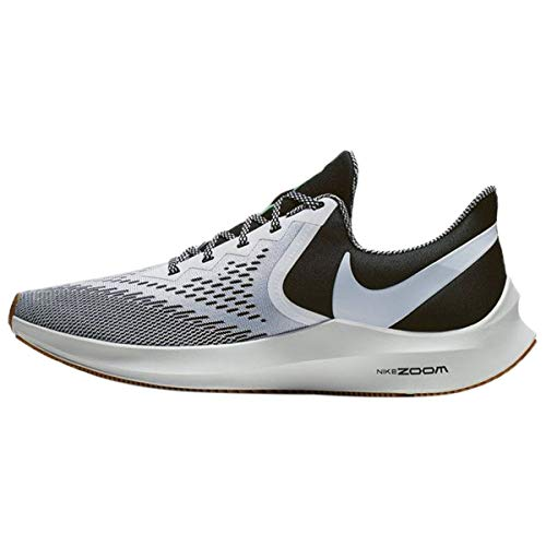 Nike Zoom Winflo 6 SE, Zapatillas de Atletismo Hombre, Negro (Black/White/Gum Light Brown 1), 41 EU