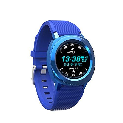 ZZG Bluetooth Intelligente Orologio Multi-Funzione Impermeabile Passo frequenza cardiaca monitoraggio del Sonno Bluetooth Chiamata Informazioni Movimento sincrono Braccialetto