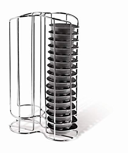 Maxxo Soporte de cápsulas de café para Bosch Tassimo (32 piezas) Dispensador Torre para repuestos para cafeteras Bosch Tassimo