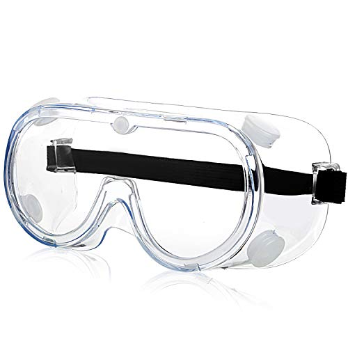 Safety Goggles for Work Anti-Fog Safety Goggles Over...