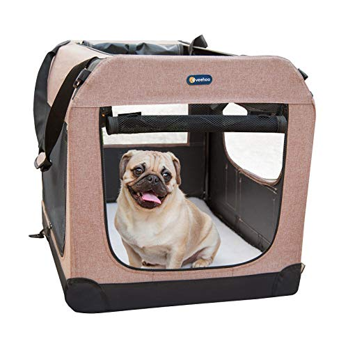 Veehoo Folding Soft Dog Crate