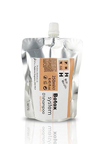Pop Italy Champú al Botox Rellenante Antienvejecimiento con exclusivo Botox Replumping System - 250 ml