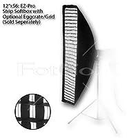 "Fotodiox ez-proストリップソフトボックス、Speedring 12x56"" 10SBXEC1256EZ"