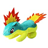 Detazhi Anime Three Generations Cyndaquil Quilava Typhlosion Plush Toys Cartoon Animal Collection Dolls Soft Stuffed Toys 26Cm