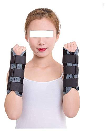 FGUD Tirantes de muñeca de Mano con férula extraíble, Transpirable Ajustable a la Izquierda Derecha Correas de Soporte de la muñeca Túnel carpiano para la tendinitis Alivio del Dolor
