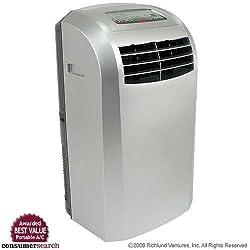 Image of EdgeStar Extreme Cool 12,000 BTU Portable Air Conditioner - Silver: Bestviewsreviews