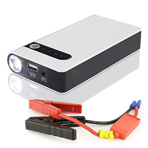 NCBH Starthulp 12000 mAh Power Banks kleine Pico 400 A Noodstroombatterij booster Pack voor 12 V gas 4 l met LED-zaklamp W / 1 USB