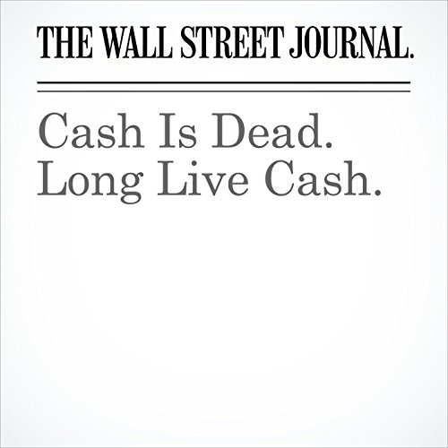 Cash Is Dead. Long Live Cash. copertina
