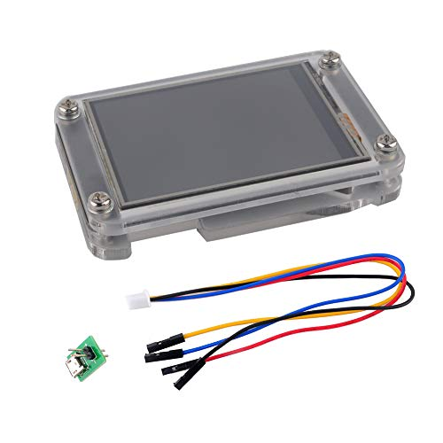 Nextion Enhanced 2.4 inch Display NX3224K024 Resistive Touch Screen UART HMI LCD Module 320x240 + Acrylic Case Enclosure for Arduino Raspberry Pi