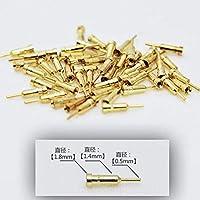 ガンプラ ロボット 模型 フィギュア バーニア ディテールアップ用 ノズルピン (A, ゴールド) [並行輸入品]