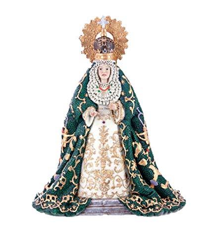 DRW Virgen de la Espernaza Macarena de Resina (10) con Caja de PVC de Regalo
