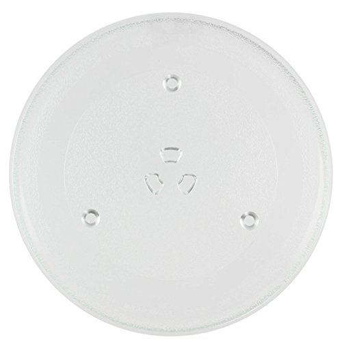 Spares2go Glass Turntable Plate for Tesco MT08 MG2011 Microwave Ovens (270mm)