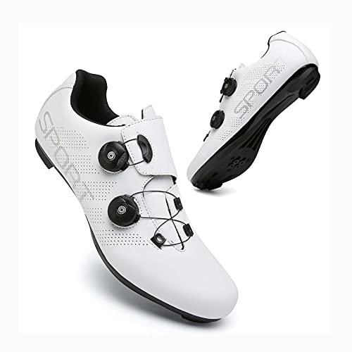 CCCYT Chaussures pour Vélo Tout Terrain Chaussures Vélo/Chaussures de Cyclisme/en Grille Respirante