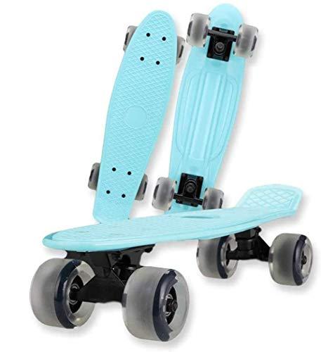 XUDREZ Mini Penny Board Skateboard para niños, monopatín retro para niños y...