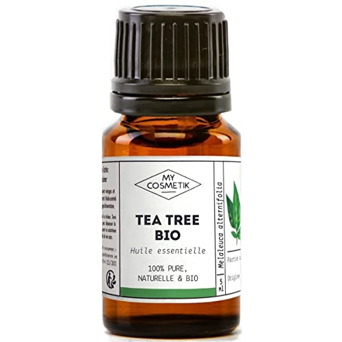 Aceite esencial Tea Tree orgánico (árbol de té) - MyCosmetik - 10 ml