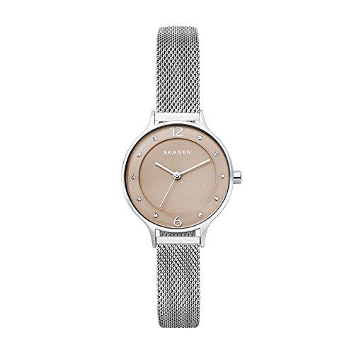 Skagen Damen Quarz Uhr mit Edelstahl Armband SKW2649