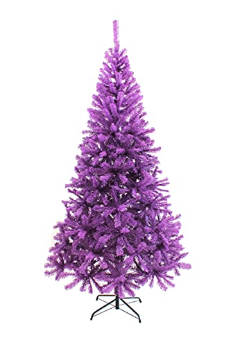 Perfect Holiday PVC-7PR Christmas Tree, Purple