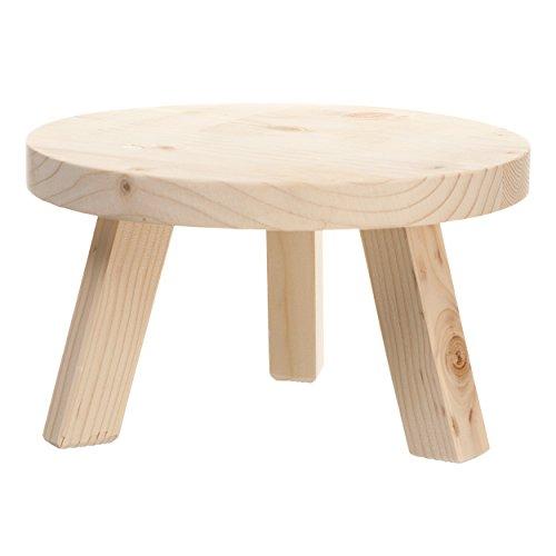 Leonardo 029458 Getränkespendersockel - Holz - Höhe: 12 cm
