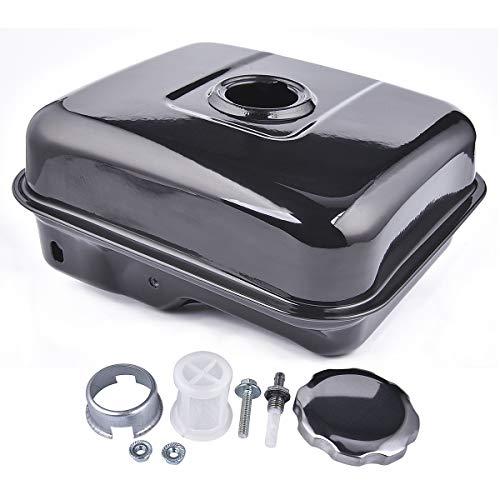 Depósito de combustible con tapón sin manchas compatible con la mini bicicleta Baja Warrior Heat 5.5hp 6.5hp Mb165 Mb200 196cc