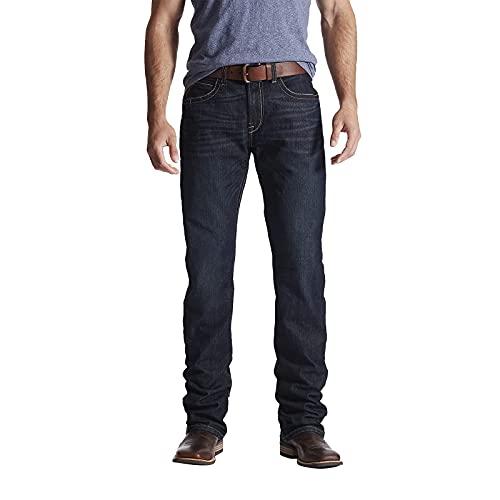 ARIAT Men's Rebar M4 Slim Fit Durastretch Straight Leg Jean, Bodie, 32W X 32L