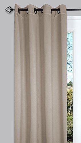 Ideenreich, Tenda oscurante, 2229, 135 x 260 cm, Beige (Frappée)