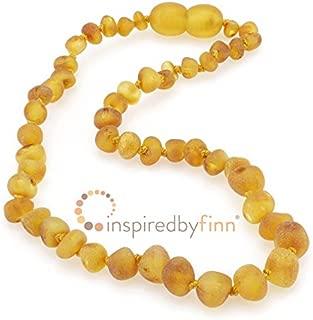 Unpolished Harvest Amber Necklace (13