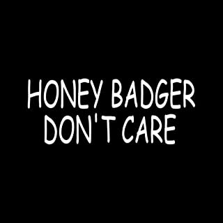 Best honey badger don t care sticker Reviews