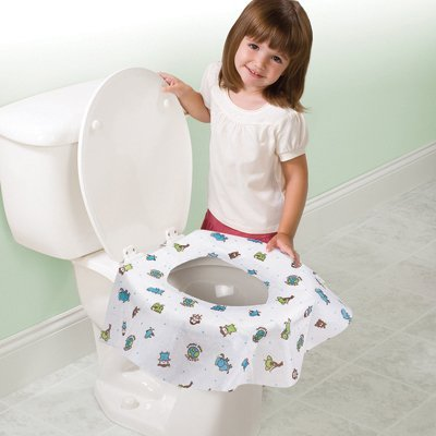 Bornfree/Summer Infant C&G Potty Protectors - 10 Pack