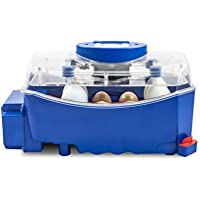 Borotto LUMIA 8 Automática - Incubadora profesional patentada , con gira huevos Automático - para 8 huevos medio/grandes o 32 huevos pequeños