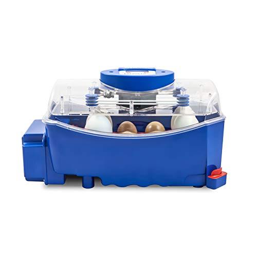 Borotto LUMIA 8 Automatica - Incubatrice Professionale Brevettata, con Girauova Automatico - per 8 Uova Medio/Grandi o 32 Uova Piccole