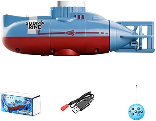 RC Boat Mini Control Remoto Submarino 0.1M / S Velocidad Impermeable Diving Toy Simulación Modelo de Regalo para niños y Adultos