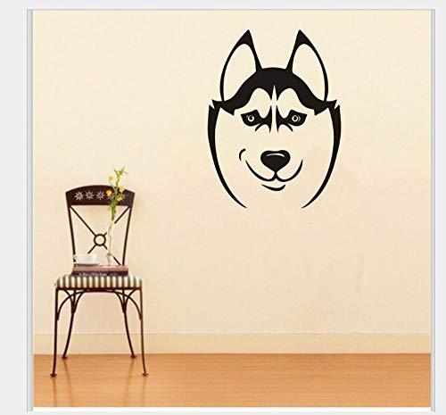 Pegatinas De Pared Decorativas Perro Mascota Serie Generación Tallada Personalidad Dormitorio Estudio Tienda De Mascotas Ventana Fondo Pared 57 * 42 Cm