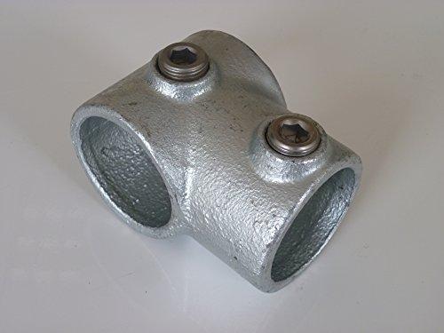 B&T Metall Rohrverbinder T-Stück kurz T101 Ø 26,9 mm (3/4
