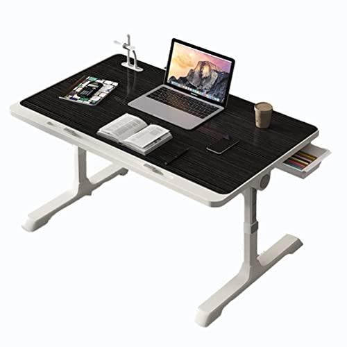 HYCy Escritorio para computadora portátil para Cama y sofá con Mesa Ajustable en Altura USB, portátil, piernas Plegables, Bandeja para Desayuno, Comer, portátil, Soporte para computador