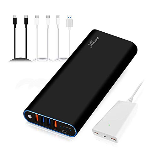 BatPower 56000mAh PD 87W with 120W PD Charger, Power Delivery External Battery Power Bank Portable Charger Bundle for USB C MacBook Pro/Air Mac Laptop, iPad iPhone 11 Pro X XS Max 8. (PDE3 / 210Wh)