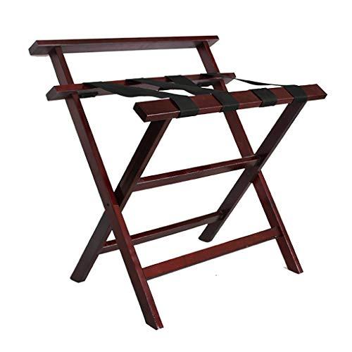 Amazing Deal Luggage Rack ,Hotel Room Foldable Solid Wood Suitcase Holder, Luggage Rack Shelving S...