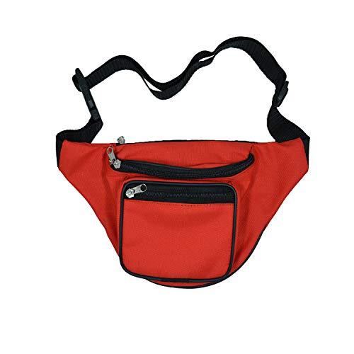 Beste riem Boom-Bag Reizen Taille Organizer (RED)