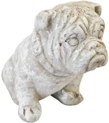Athens Small Bulldog Statue Marble List Large discharge sale price Tone